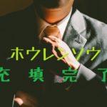ネクタイ締める男性